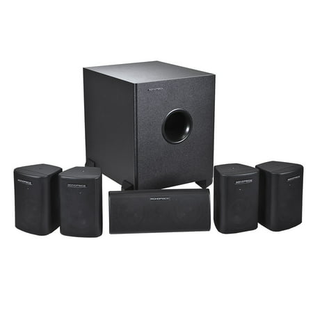 5.1 Channel Home Theater Satellite Speakers & Subwoofer ?- (Best Satellite Speakers Review)