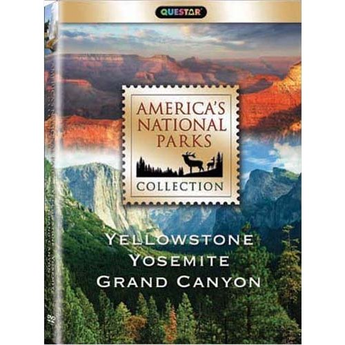 America's National Parks Collection: Yellowstone / Yosemite / Grand Canyon