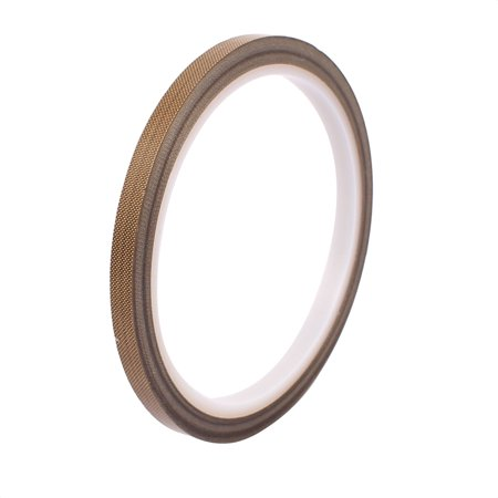 0.13 x 6mm PTFE High Temp Resistant Tape Non-adhesive Tape for Sealing Machine