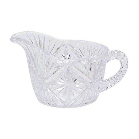 Amscan Elegant Crystal Cut Cream Holder, 6 oz, (Cut 24% Lead Crystal)