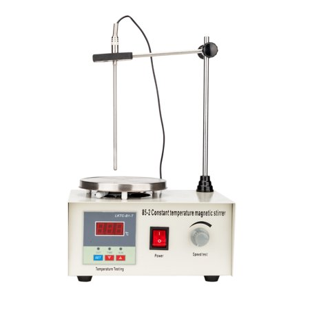 Laboratory Mixers (UBesGoo 110V/50Hz Magnetic Stirrer Mixer Stirring Machine w/ Heating Hot Plate for Laboratory 1000ML Speed Control )