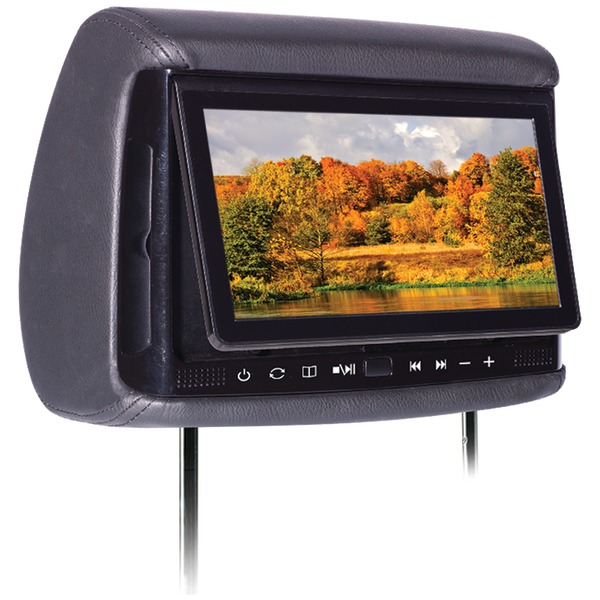 """Panther P9 9"""" P9 Universal Headrest Monitor with DVD Play..."""