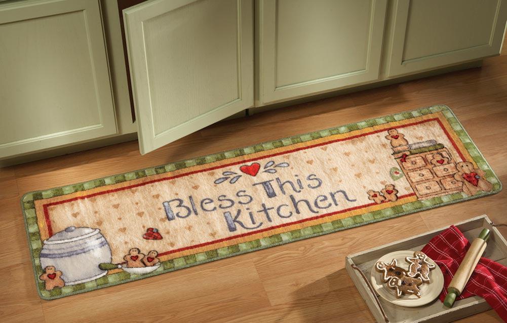 Gingerbread Kitchen Runner Rug   Walmart.com