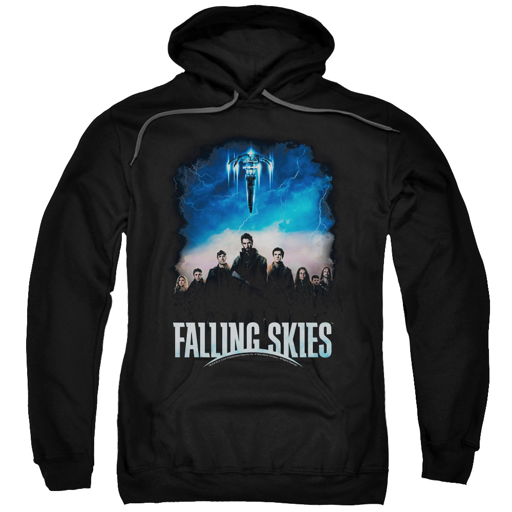 Falling Skies/Main Players Adult Pull Over Hoodie Black  Tnt174