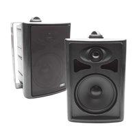 """Skar Audio AWX65PB 6.5"""" 2-Way All-Weather Indoor/Outdoor Speakers - Black (Pair)"""