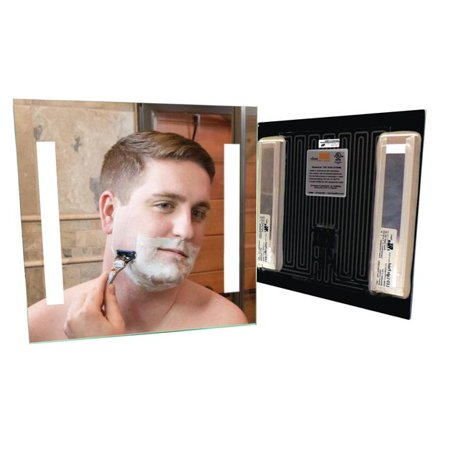 ClearMirror 16104-121224BL Shower Lite Clear Mirror, 12 x 12 (Lite Mirror)