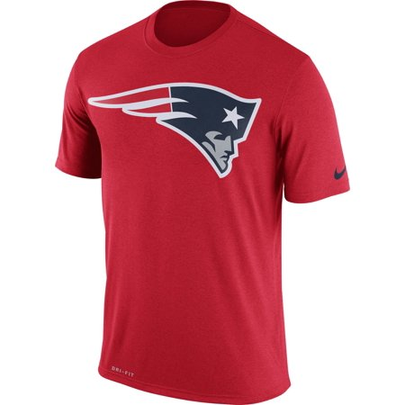 Nike Men's New England Patriots Legend Logo Red T-Shirt