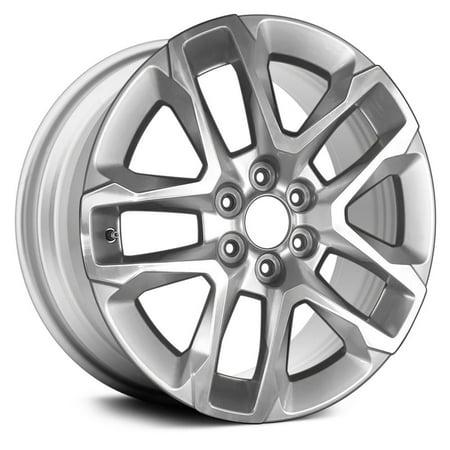 Aluminum Alloy Wheel Rim 18 Inch OEM Take-Off Fits 2018 Chevrolet Traverse 6-120mm 10 Spokes (2018 Rims)