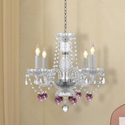 Harrison Lane 4-Light Crystal Chandelier (Set of 2)
