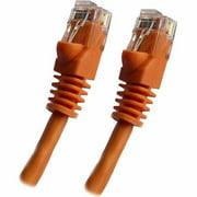 Professional Cable 10' Gigabit Ethernet UTP Cable with Boots, Orange