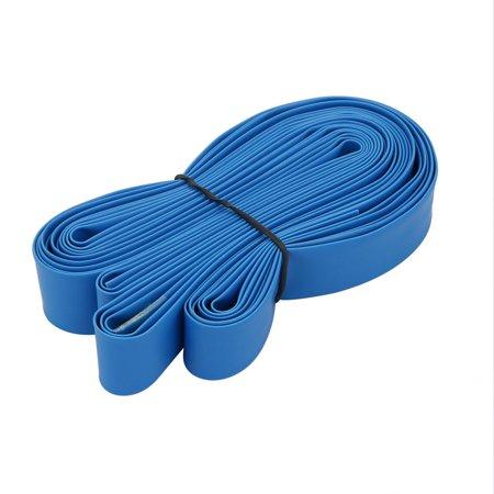 16.4ft Long 12mm ID Tube thermorétr isolé Polyoléfine Envelop. Blue - image 2 de 2