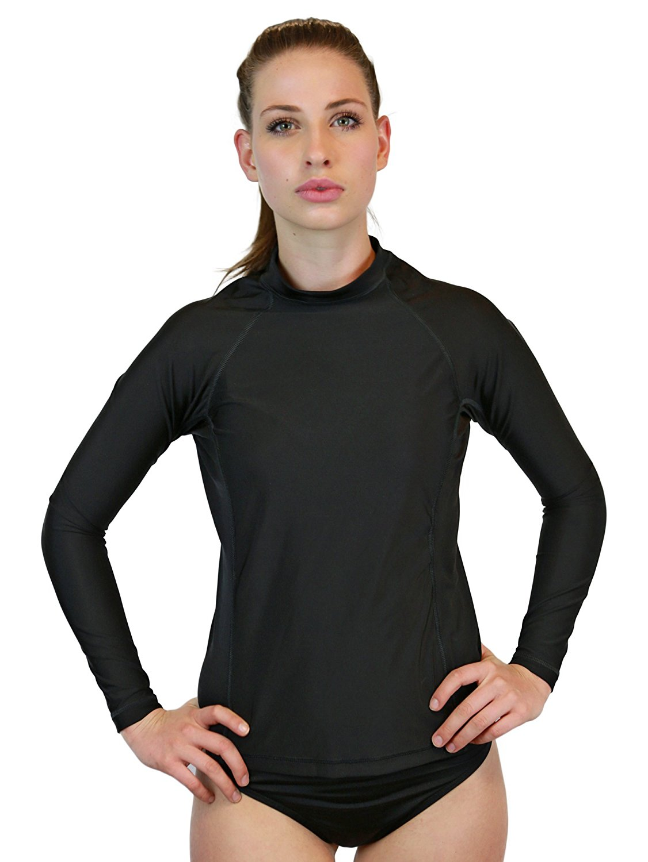 Cap-Sleeve Rash Guards for Girls Rash Guard Swim Shirts UPF 50 Sun Protective