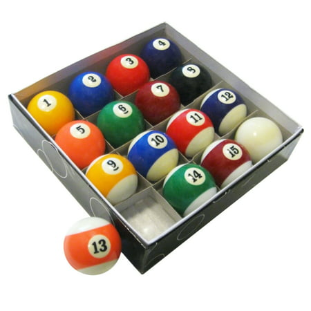 Billiard Cue Ball Glass - Hathaway Pool Table Regulation Billiard Ball Set