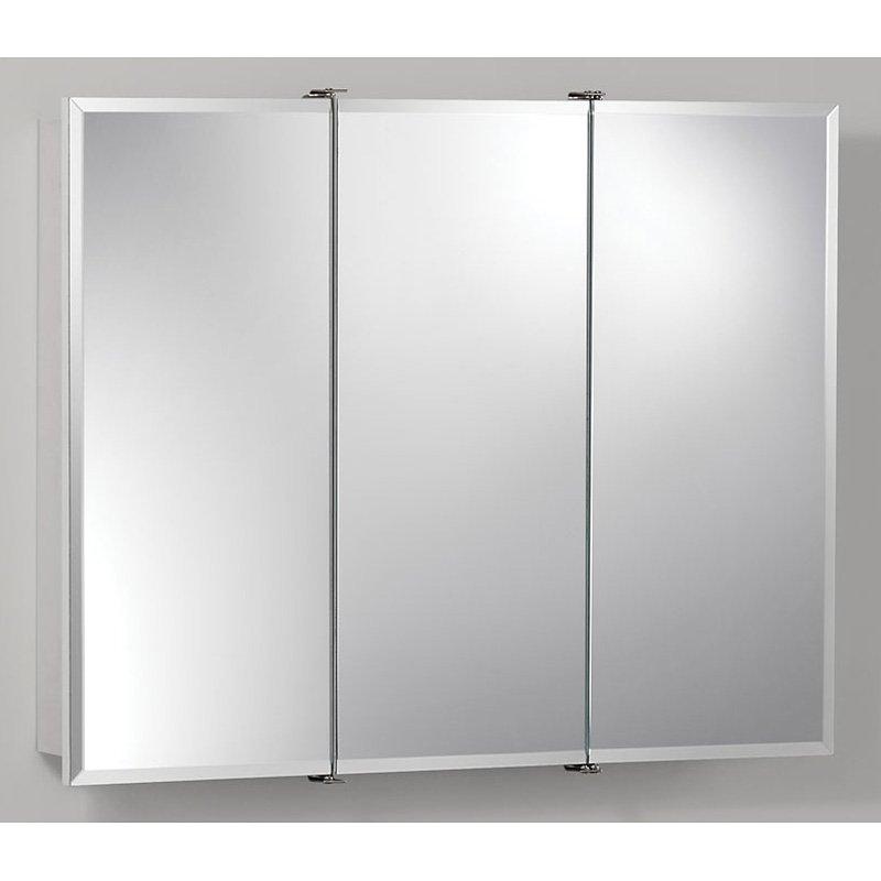 jensen medicine cabinet metro deluxe 15w x 25h in. medicine