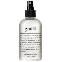 Philosophy Amazing Grace Perfumed Body Spritz For Women 8 Oz
