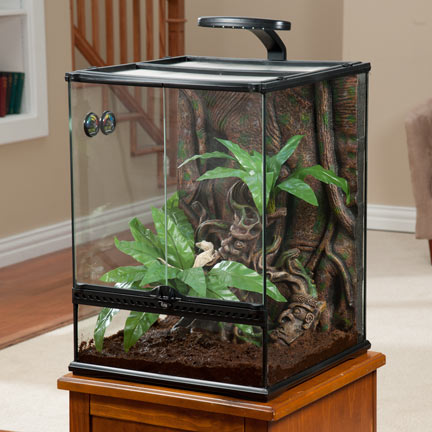 exo terra large 34 gallon crested gecko terrarium kit brand new factory sealed ebay. Black Bedroom Furniture Sets. Home Design Ideas
