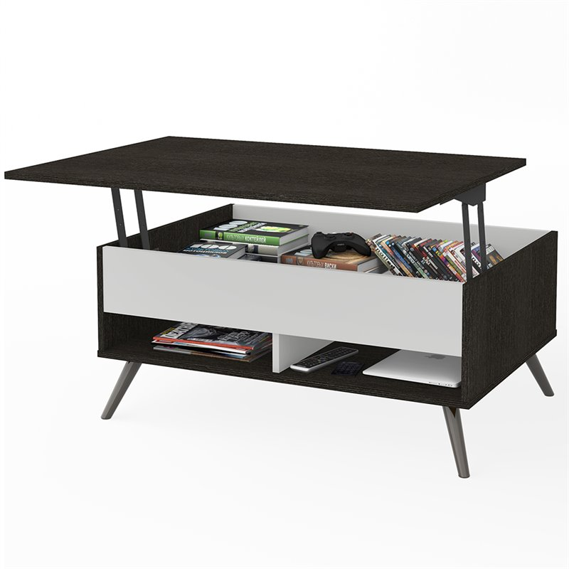 Bestar Small Space Krom Lift-Top Coffee Table
