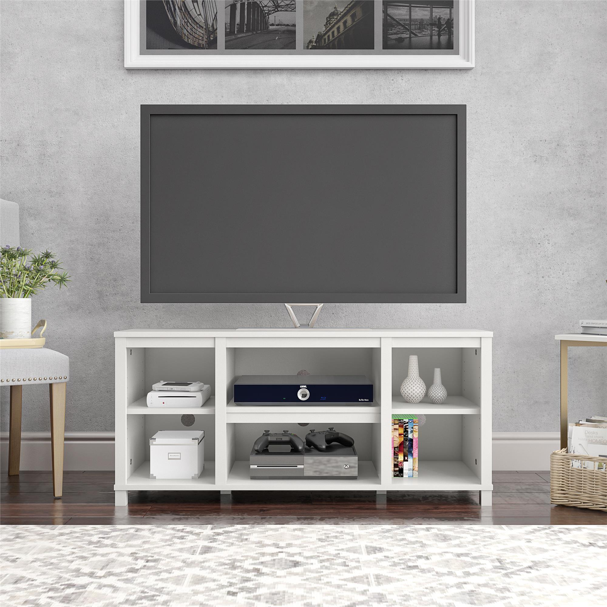 Mainstays Parsons Tv Stand For Tvs Up To 50 Espresso Walmart Com Walmart Com