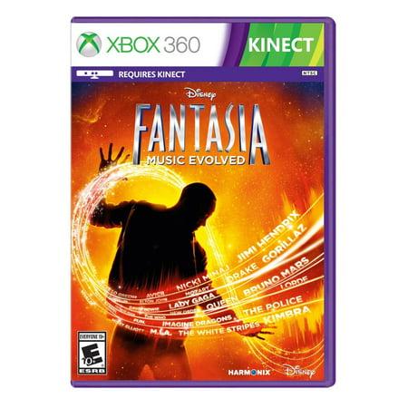 Disney Fantasia Music Evolved (Xbox 360)- XSDP -1175010000000 - Disney Fantasia: Music Evolved is a breakthrough musical motion video game inspired by Disney's classic animated film Fantasia. In - Film D'halloween Disney