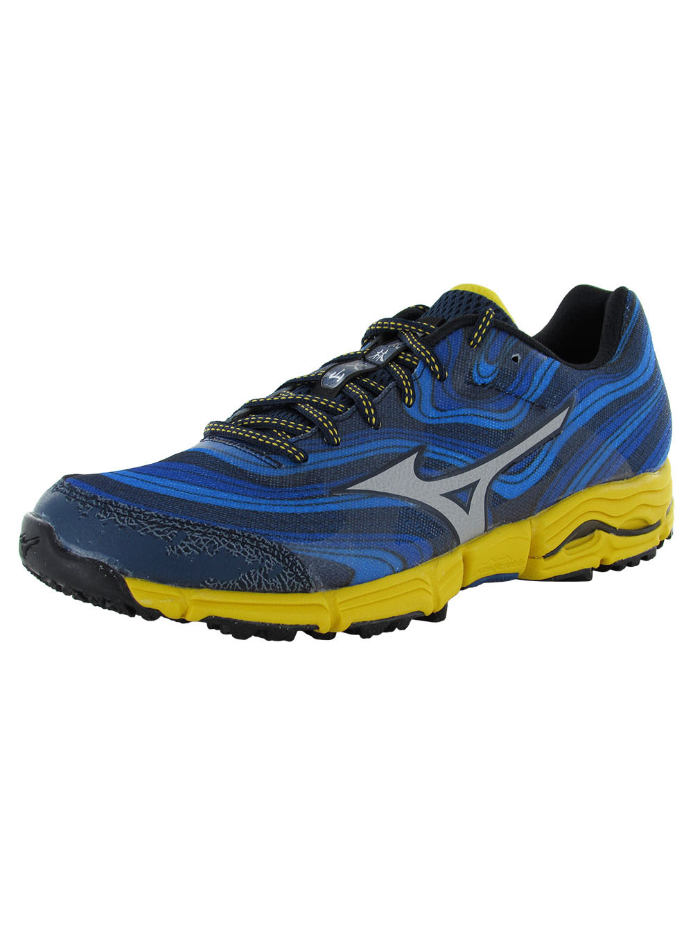 Mizuno Mens Wave Kazan Running Sneaker Shoe by Mizuno