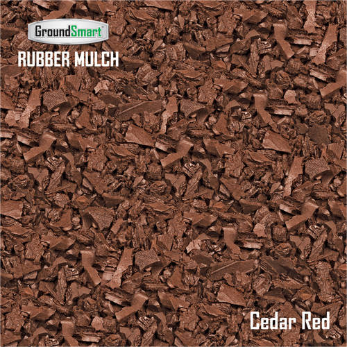 GroundSmart Rubber Mulch SuperSack 38.5 cu ft