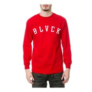 Black Scale Mens The Grand Slam LS Graphic T-Shirt, red, Medium