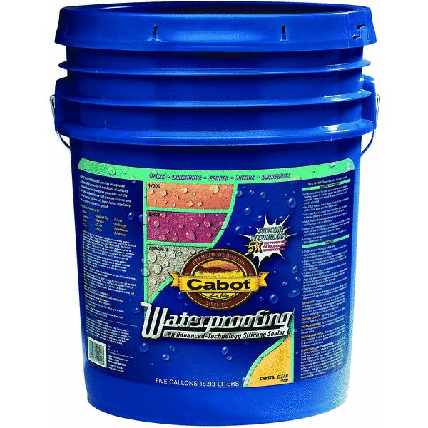 Cabot Clear Waterproofing Sealer