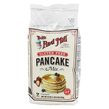 Bob's Red Mill - Gluten Free Pancake Mix - 22 oz(pack of 4) (Bobs Red Mill Buttermilk Powder)