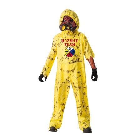 Boys Hazmat Hazard Halloween Costume