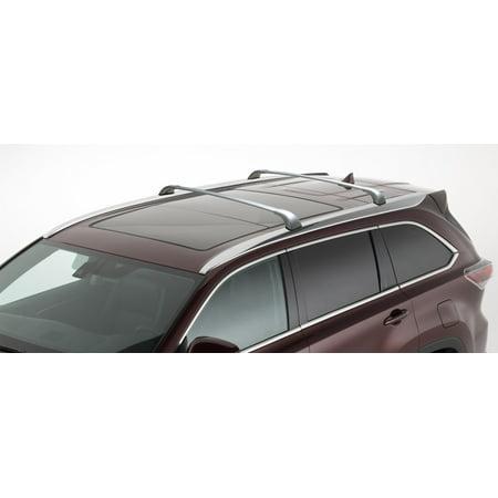 Highlander Roof Rack - BrightLines 2014-2018 Toyota Highlander XLE & Limited SILVER Cross Bar Roof Rack