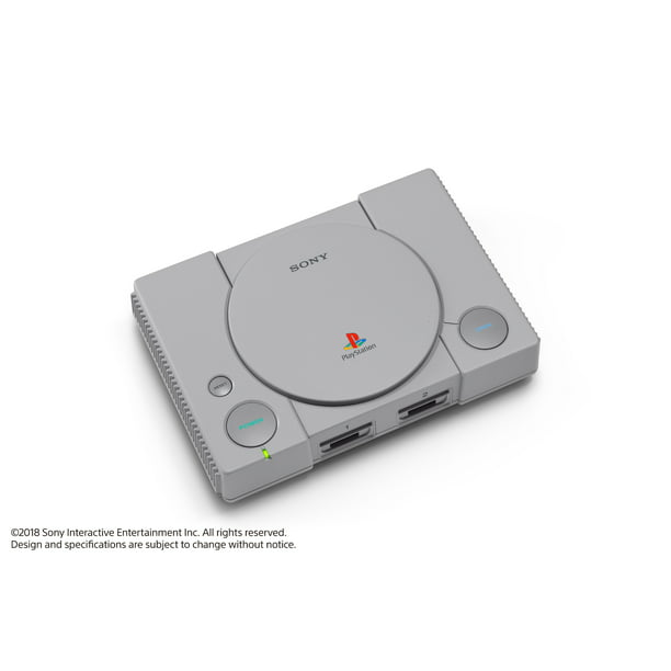 Sony PlayStation Classic Console, Gray, 3003868