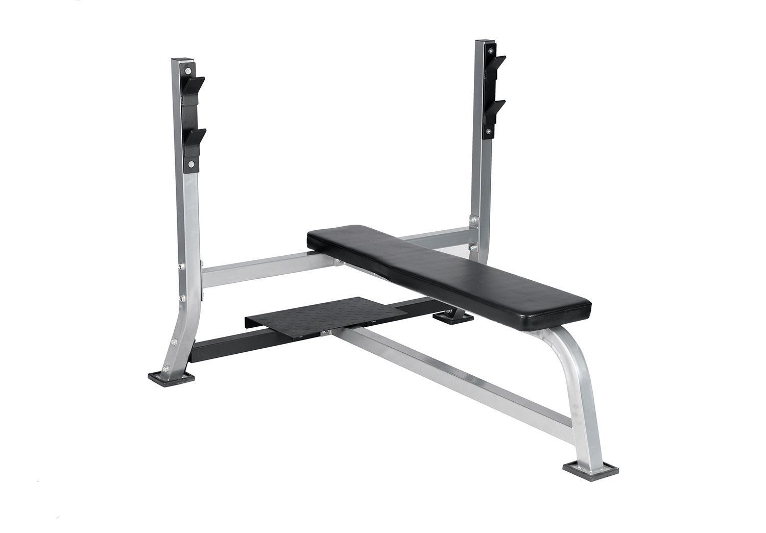 Heavy Duty Bench Press Barbell Weight Lifting Strength Training Workout Bench by