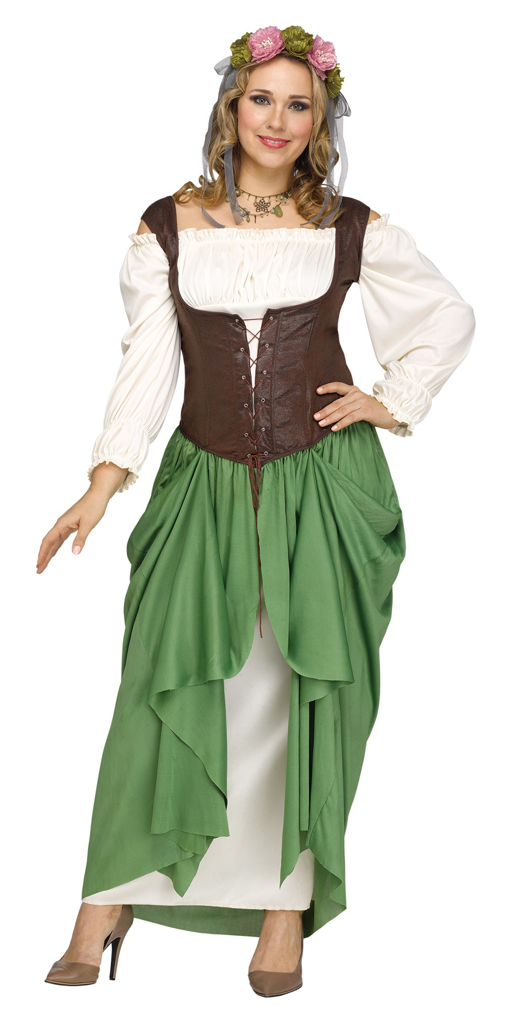 8e310c73b62 Serving Bar Wench Women s Costume Plus Size Medieval Renaissance Faire Adult
