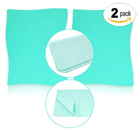 2-Pack Pixiss XL Stamp Cleaning Shammy - Large (12x8-inches), Extra Large Cleaning Cloth for Your Stamps and Craft Tools - Cut to Your Preferred Size