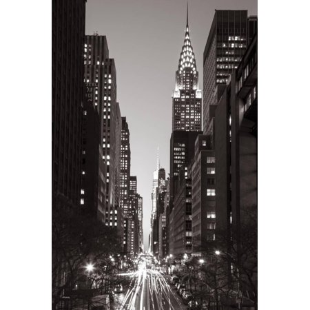 Chrysler Building, Midtown Manhattan, New York City, New York, USA Print Wall Art By Jon - Midtown Party City