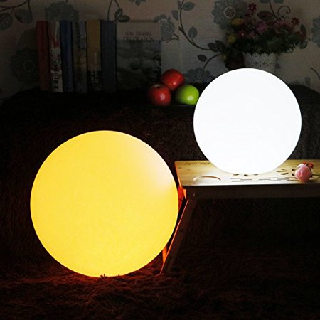Led Ball Lights Waterproof Decor Outdoor Lamp Rechargeable And Remote Control 16 Rgb Colors