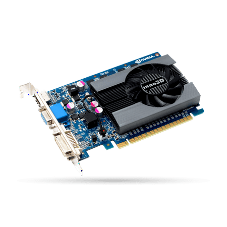 Inno3D Nvidia Geforce GT 730 2GB DDR3 PCI Expressx16 Video Graphics Card Single Slot full (Nvidia Geforce Gt730 2gb Pcie X8 Dp Gfx)