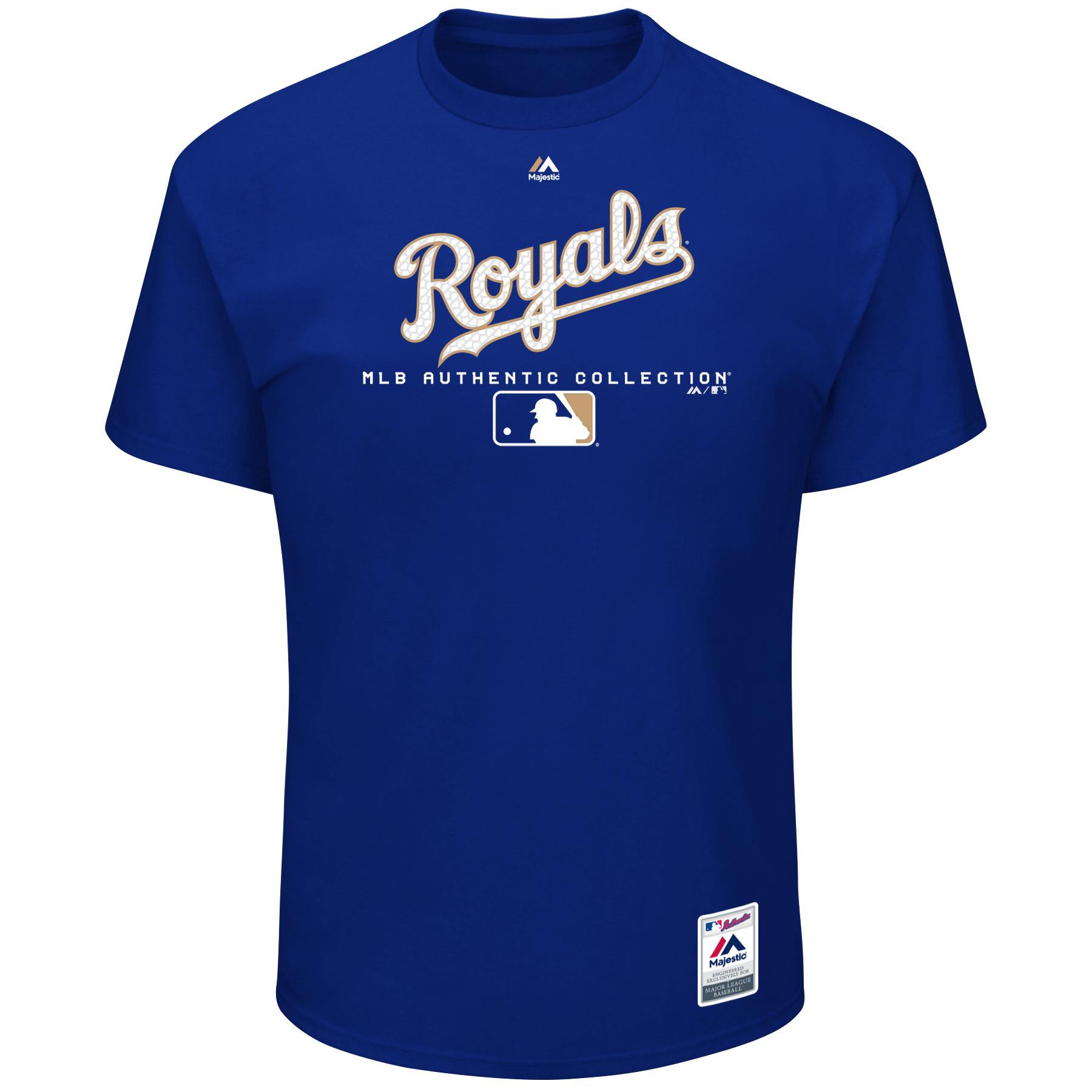Kansas City Royals Majestic Big & Tall Authentic Collection T-Shirt - Royal