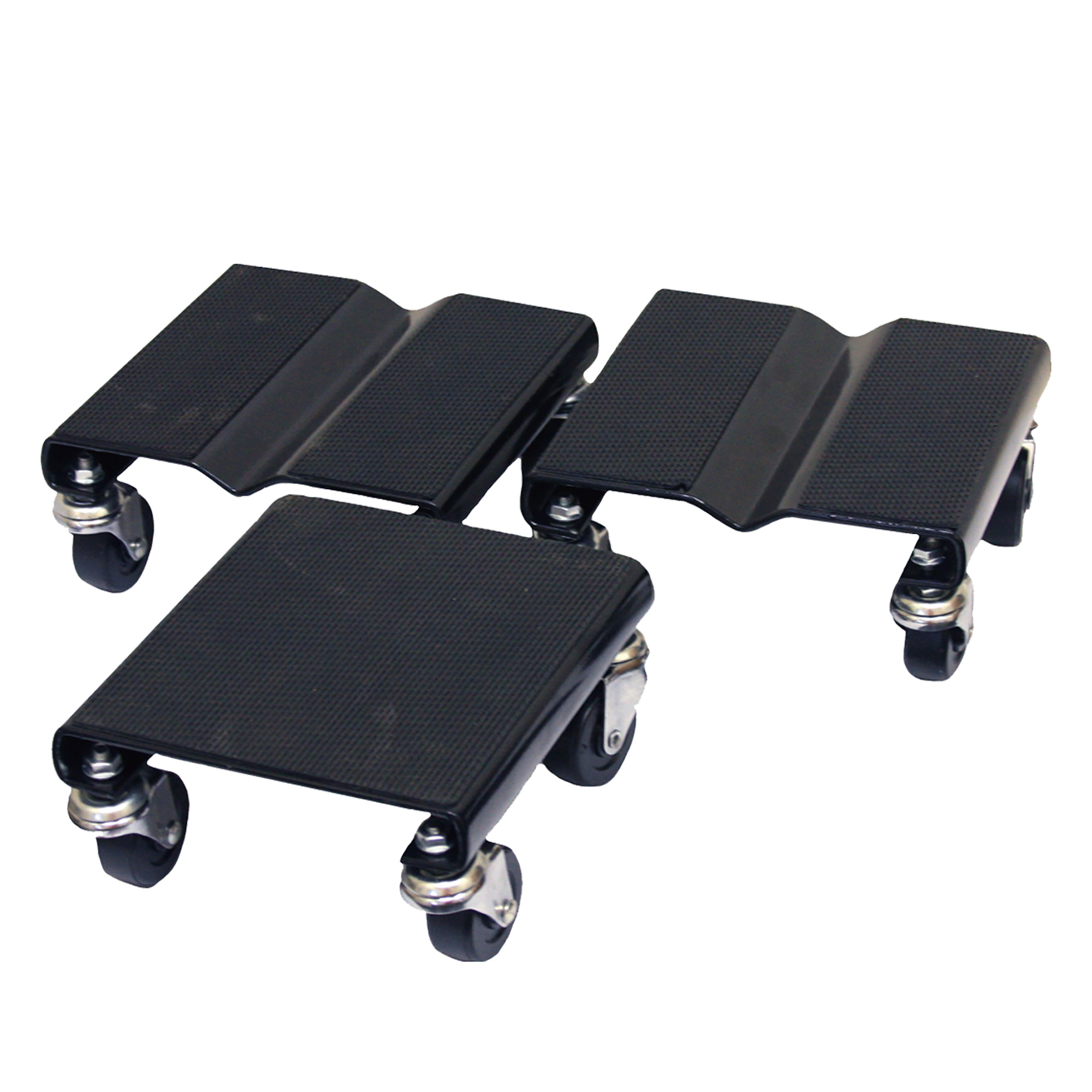 Steel Core 3 piece 1,500 lb Capacity Snowmobile Dolly Set