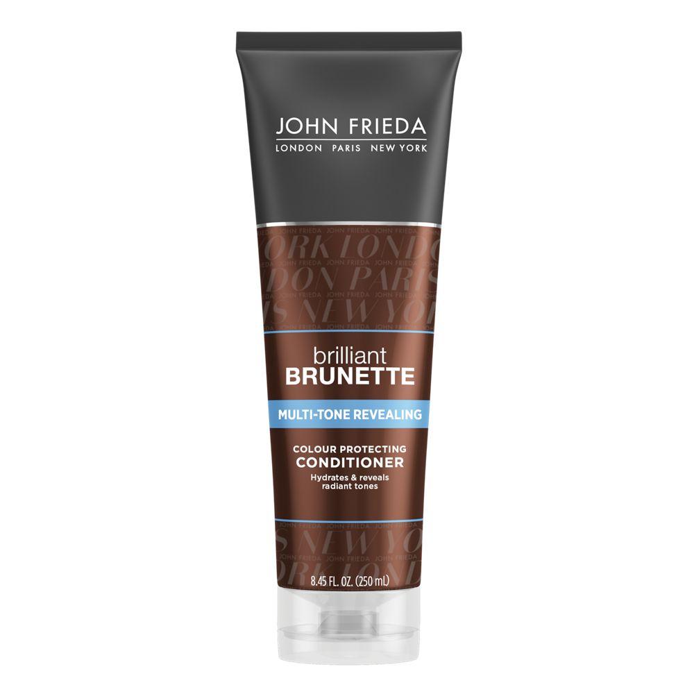 John Frieda Brilliant Brunette Multi-Tone Revealing Moisturizing Conditioner 8.45 fl. oz. Tube
