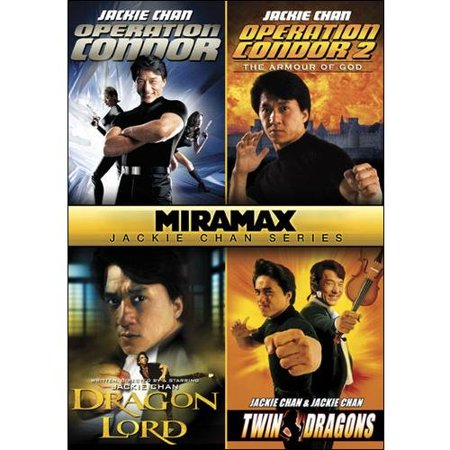 Miramax Jackie Chan Series  Operation Condor   Operation Condor 2  The Armour Of The Gods   Dragon Lord   Twin Dragons