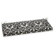 Pillow Perfect Outdoor/ Indoor Essence Black|Beige Bench Cushion