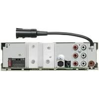 KENWOOD KMR-D375BT Marine/Motorsports CD Receiver with Bluetooth & SiriusXM Ready