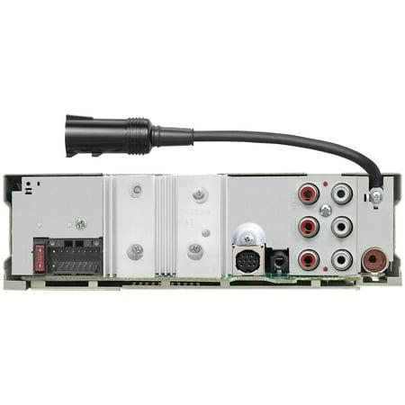 KENWOOD KMR-D375BT Marine/Motorsports CD Receiver with Bluetooth & SiriusXM