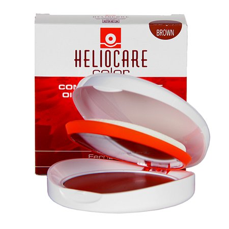 Heliocare Brown Color Compact Oil-Free SPF 50 Broad Spectrum
