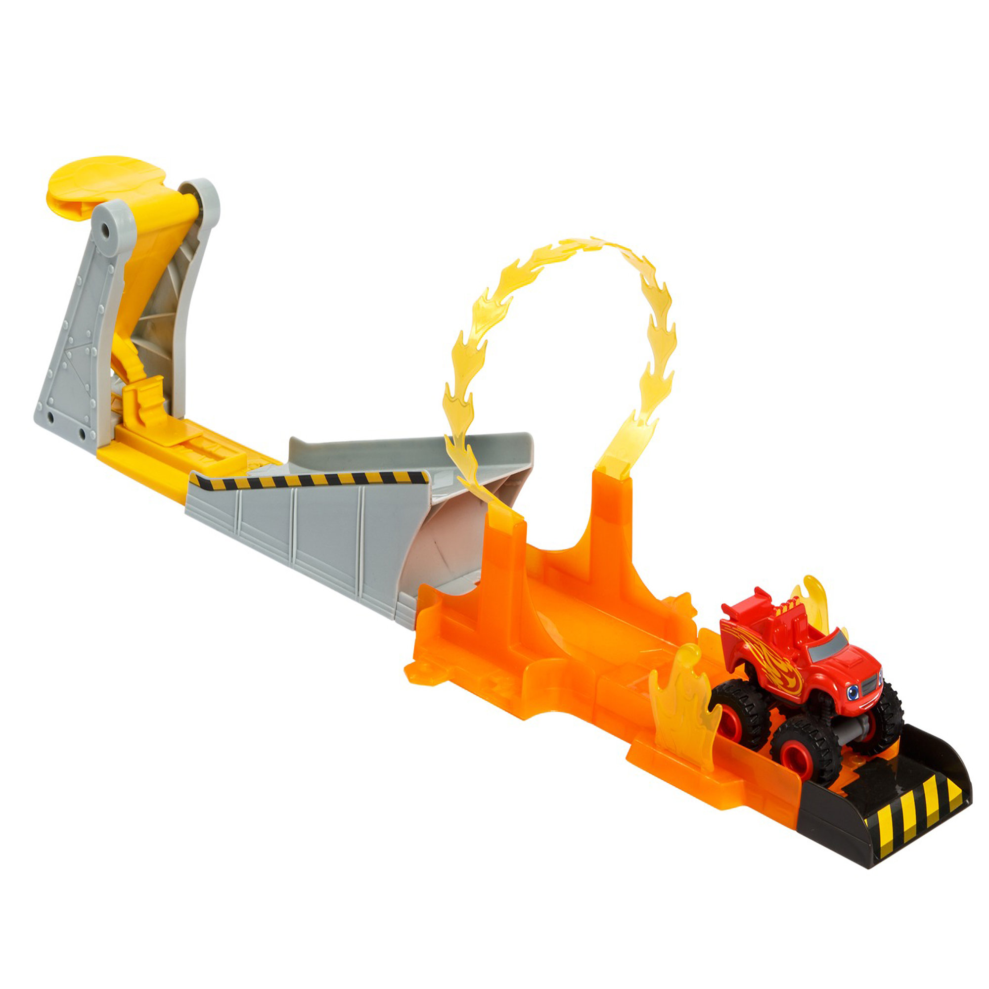 Fisher Price Nickelodeon Blaze And The Monster Machines Blazing Stunts Track Set by Mattel