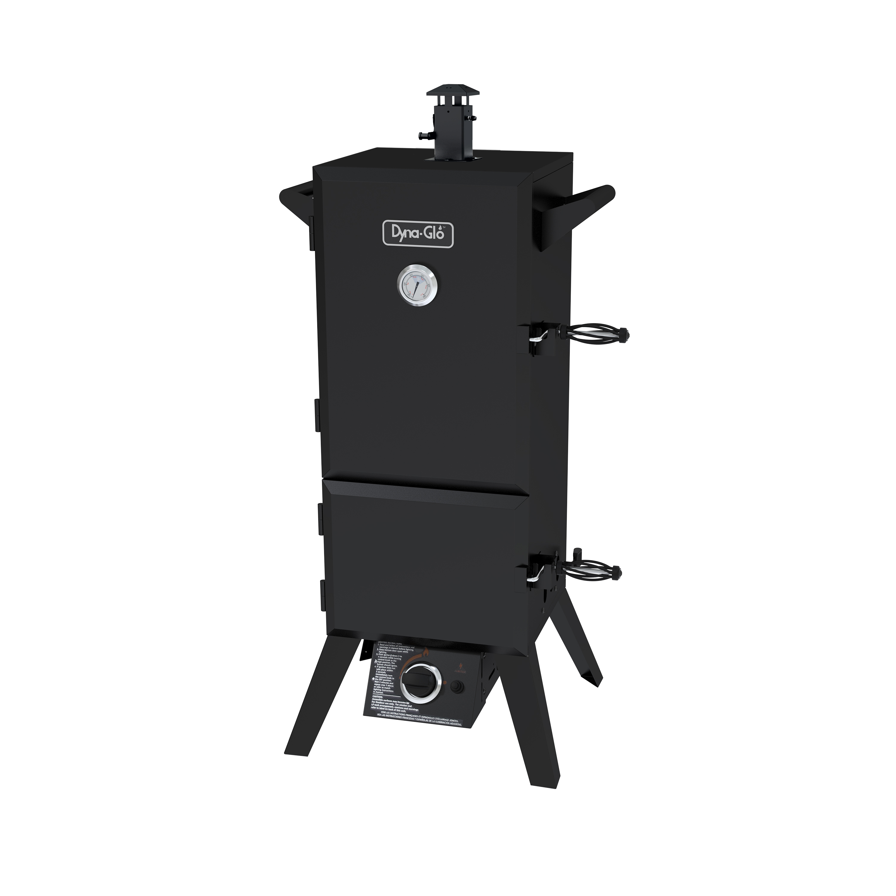 "Dyna-Glo DGY784BDP 36"" Dual Door LP Gas Smoker"