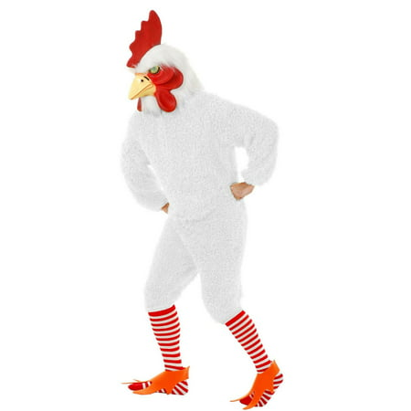 Halloween Rocking Rooster Adult White