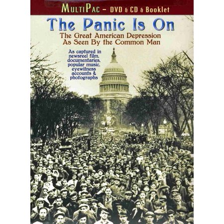 The Panic Is On: The Great American Depression as Seen by ... A Common Man Dvd