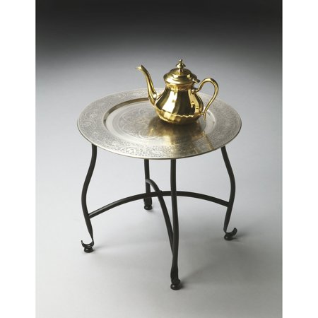 Butler Moroccan Tray Table - Metalworks - 16 diam. in.